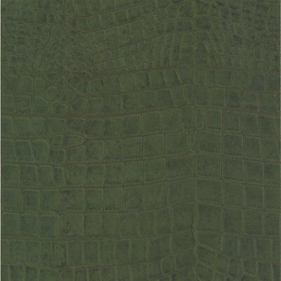 Green Crocodile Skin Wallpaper Paste the Wall Textured Animal Print 51157504 ()