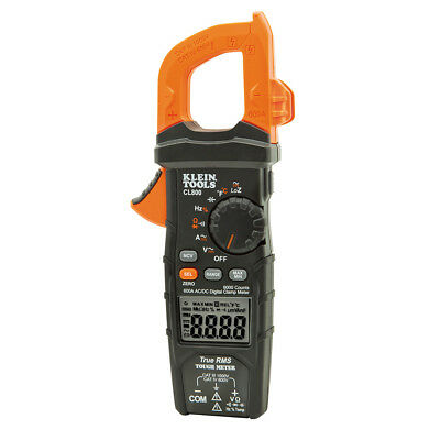 Klein Tools Cl800 Digital Auto-ranging Acdc 600a Clamp Meter