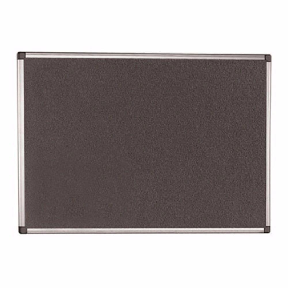 Office Depot Aluminium Frame Notice Board Grey 600 x 900mm.....................NEW