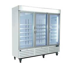 NEW 3 Door 1400L Commercial Upright Glass Display and Storage Fre Eagle Farm Brisbane North East Preview