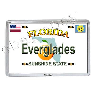 Florida Everglades - Souvenir Foto Magnet -  Fotomagnet - 5mm Acryl Neu