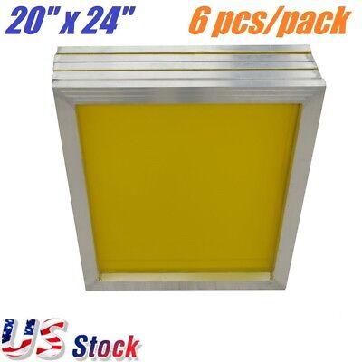 6 Pack Aluminum Frame Silk Screen Printing Screens 20 X 24 230 Mesh