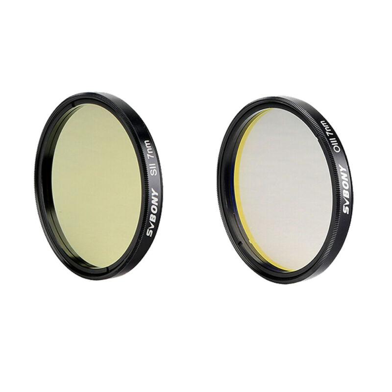 """SVBONY 2"""" Narrow-Band Filter kits (SII-CCD+OIII-CCD)7nm for Deep Sky photography"""