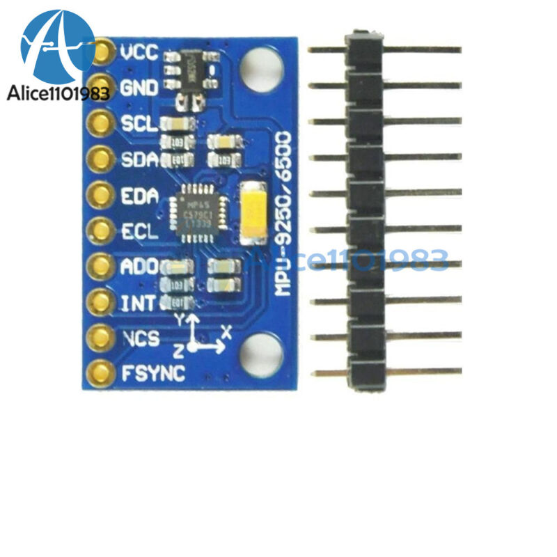6DOF MPU 6500 Sensor 3-axis Gyroscope Acceleration Module SPI/IIC For arduino