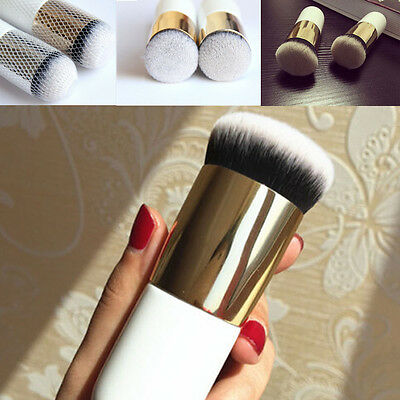 Cosmetici Make Up Spazzola Viso Pennello Per Cipria Fard Fondotinta Attrezzi New