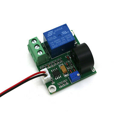 Working Dc12v 0-10a Ac Current Sensor Module Detection Module Switch Output