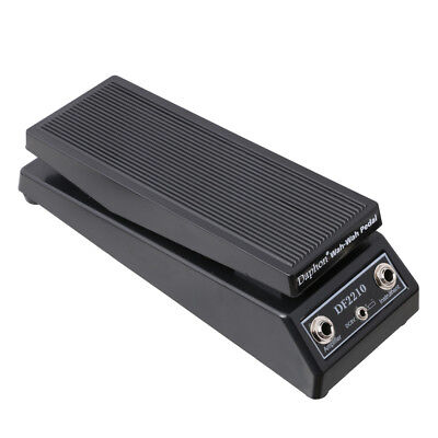 Used, WAH WAH Sound Volume Electric Guitar FX Effect Pedal Heavy Duty DF2210 for sale  Shipping to Canada
