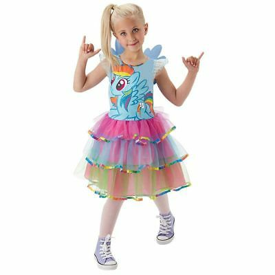 Rub - My little Pony Kinder Kostüm Rainbow Dash Karneval (My Little Pony Rainbow Dash Kostüm Kind)
