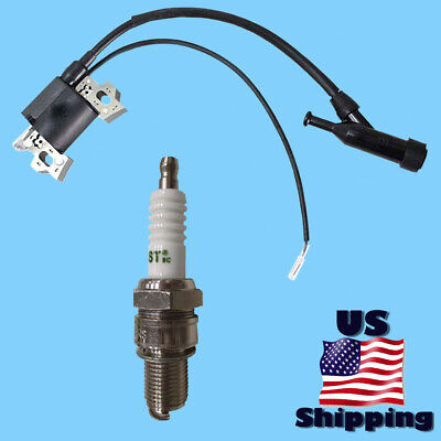 Ignition Coil Spark Plug For Champion Cpe 100104 76533 76525 70003 Gas