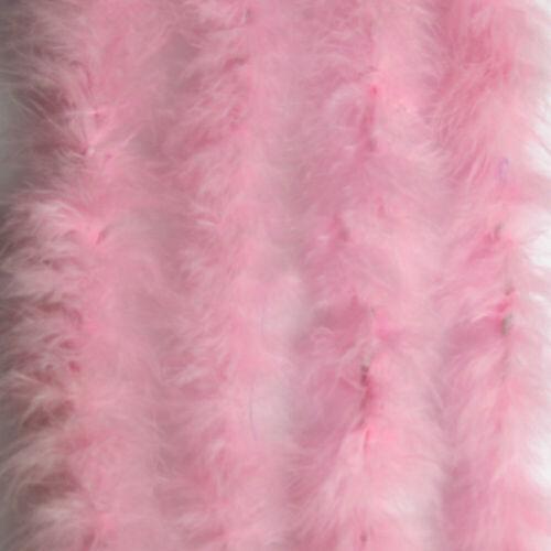 Marabou Swansdown Soft Ribbon Fluffy Feather Fur String Trimming Trim 2M Decor