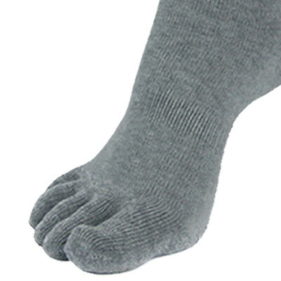 """5 Pairs Mens Trainer Low-Cut Toe Socks """"Skin contact surface is 100% cotton"""""""