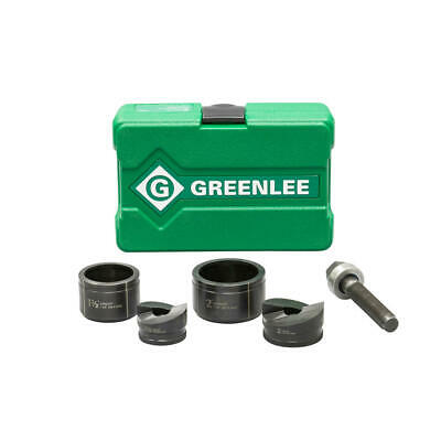Greenlee 7237bb 1-12 And 2 Conduit Size Manual Slug-buster Knockout Punch Kit
