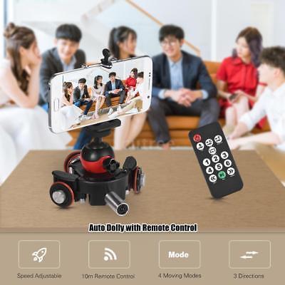 Andoer Handy DSLR Kamera Video Stabilisator Auto Dolly Rolling Rail Slider