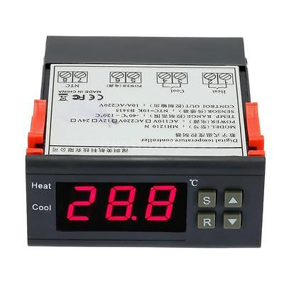 220V Digital LCD Temperaturregler Thermostat Temperatur Regler -40-120°C OL 00SF