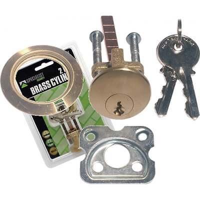 Replacement Yale Type Rim Cylinder Barrel Night-latch Door Lock Brass SP2167