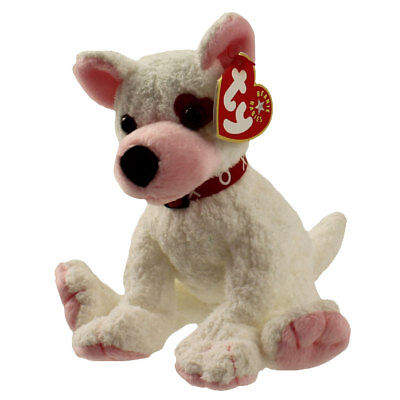 TY Beanie Baby - CUPID the Dog  - MWMTs Stuffed Animal Toy