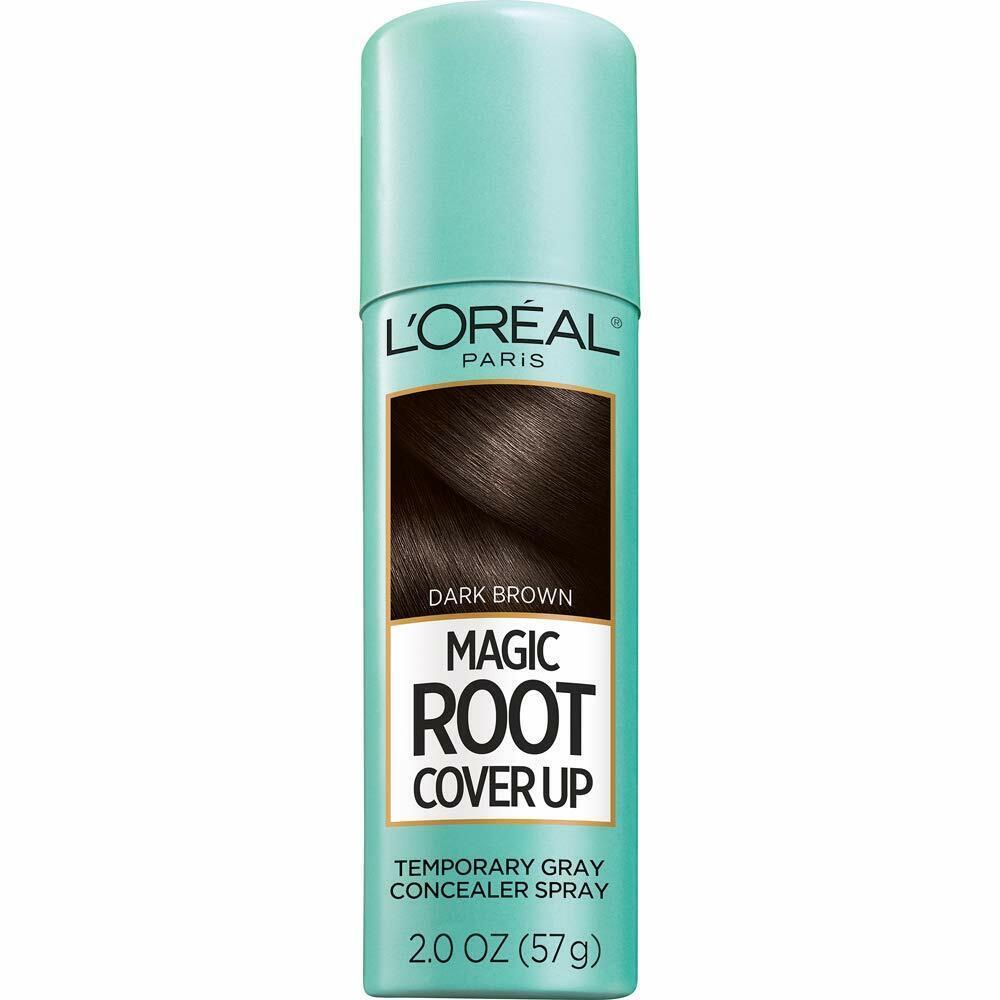 L'Oreal Paris Hair Color Root Cover Up Dye,  Black 2 Oz