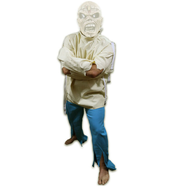 Iron Maiden Eddie Straight Jacket & Pants Piece of Mind Halloween ...