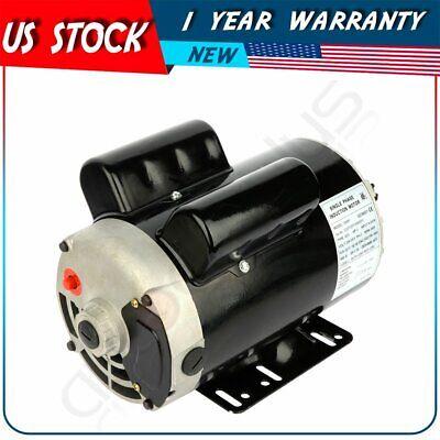 5 Hp Air Compressor Electric Motor 56hz Frame 3450 Rpm 208v-230 V Single Phase