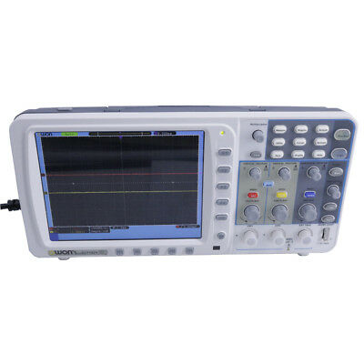 Owon 100mhz Digital Oscilloscope Sds7102v 1gs Large 8 Lcd With Lan And Vga
