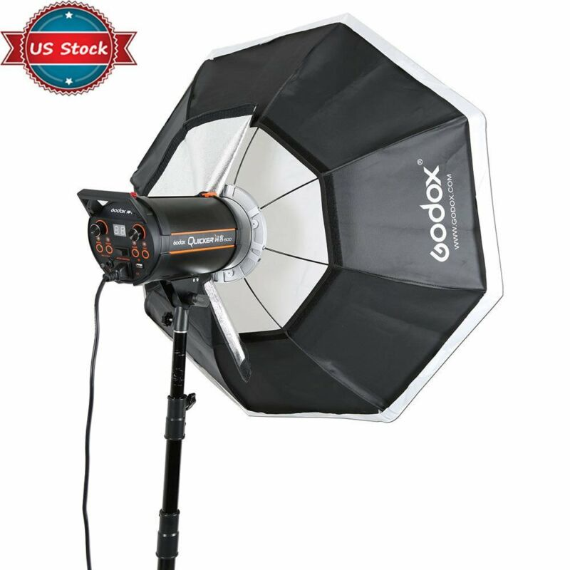 "US Stock Godox Octagon Softbox 37"" 95cm Bowens Mount for Studio Strobe Flash"