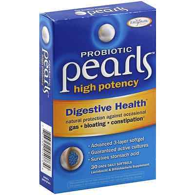 Enzymatic Therapy Probiotic Pearls High Potency Once Daily Softgels 30 ea - Once Daily Therapy