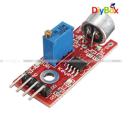 High Sensitivity Sound Microphone Sensor Detection Module Avr Pic For Arduino
