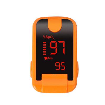 Laboratory Portable Led Finger Tip Pulse Oximeter Blood Oxygen Spo2 Pr Monitor