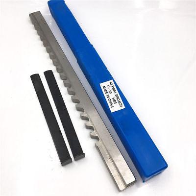 Hss Keyway Broach 10mm D Push-type Metric Size Cnc Machine Tool E