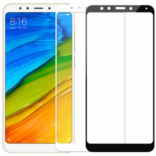 For Xiaomi 8 Redmi 5 Plus 3D Full Cover Tempered Glass Curved Screen Protector!