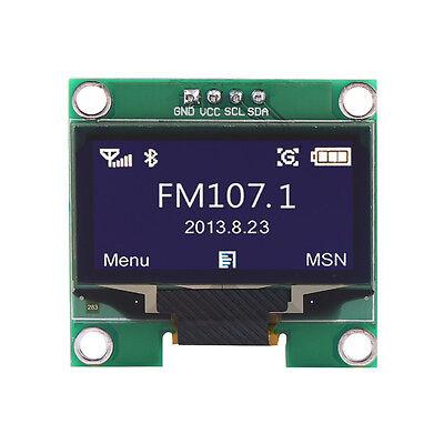 1.3 1.3 Inch Iic I2c Spi Serial 128x64 White Oled Lcd Display Module Fr Arduino