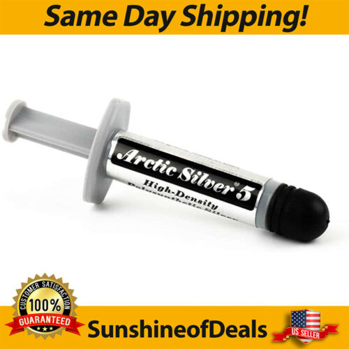 Arctic Silver 5 CPU Thermal Compound Paste Grease Tube 3.5 grams AS5-3.5G *NEW!