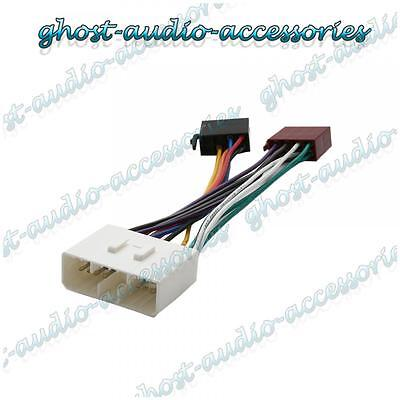 ISO Wiring Harness Connector Adaptor Stereo Radio Lead loom for Ssangyong Rodius