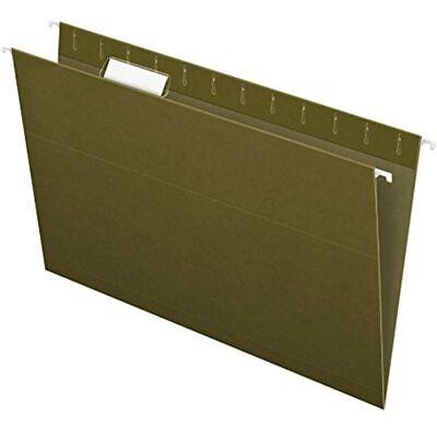 Pendaflex Recycled Hanging Folders Legal Size Standard Green 15 Cut 25bx