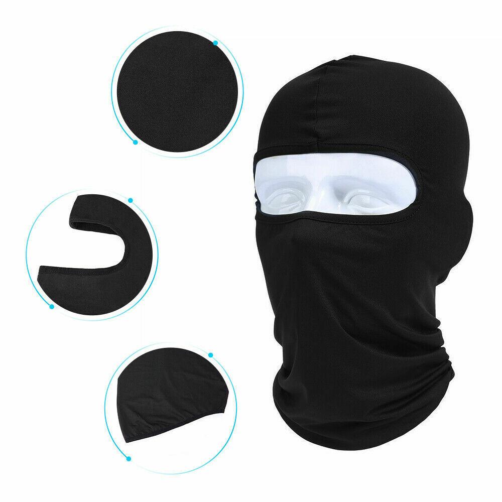 1/3/5/10Packs UV Protection Balaclava Full Face Mask Windproof Ski for Women Men Clothing
