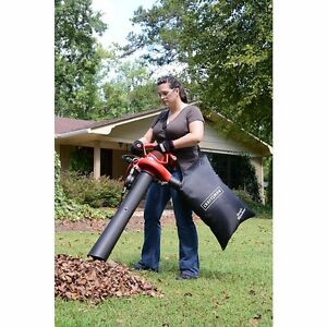 Electric Leaf Blower 2 Speed 12 AMP Lawn Yard Debris Sweep Vacuum Mulcher w Bag