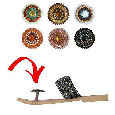 Paduka Sandals New Leather Womens Toe Post Shoes Flats Flip Flop Gladiator Thong