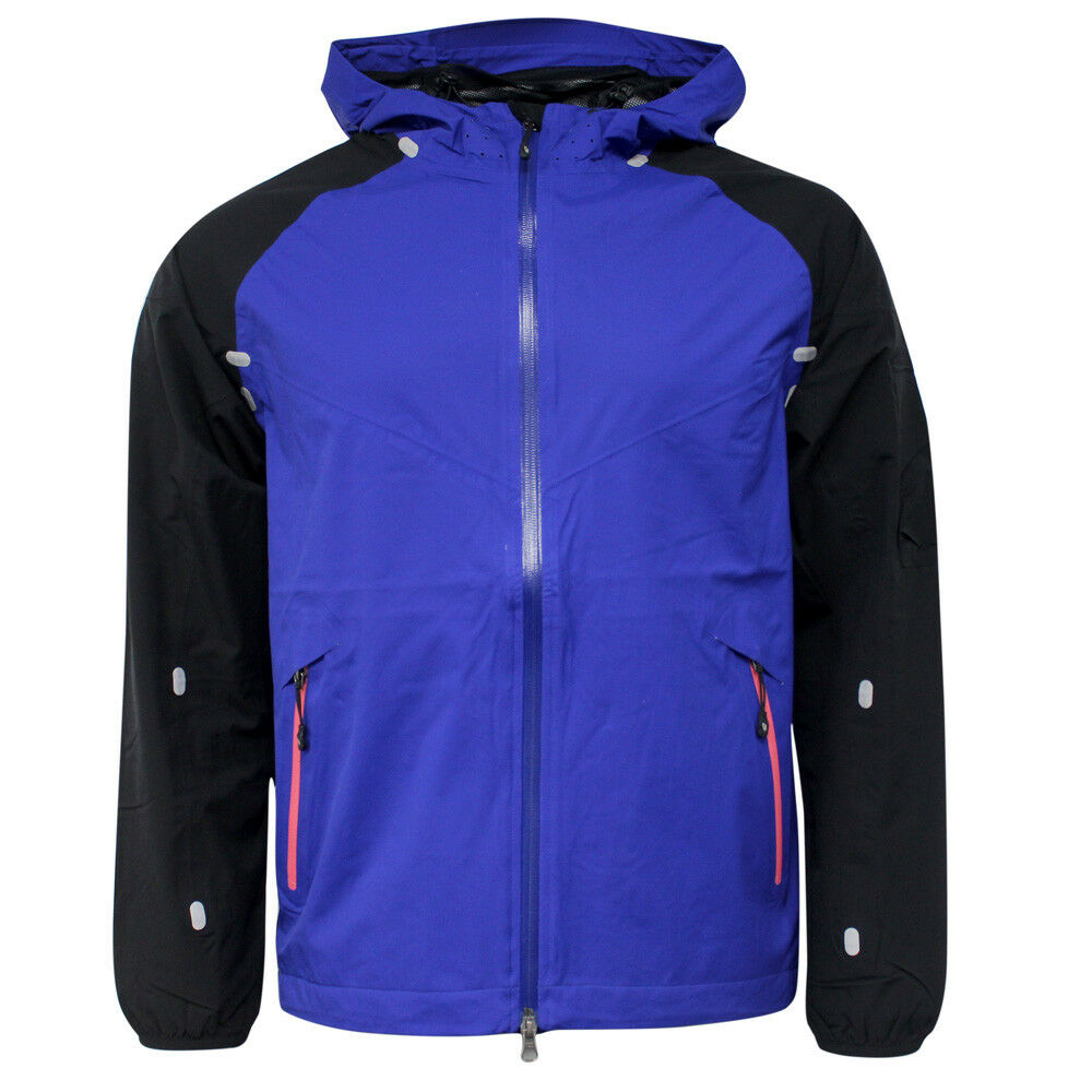 3afd89ac2f3d Details about Nike Sportswear Hooded Mens Storm-Fit Waterproof Jacket Purple  275963 420 P5G