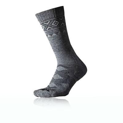 Thorlos Mens Outdoor Traveler Walking Socks Grey Size Large 10.0 - 11.0