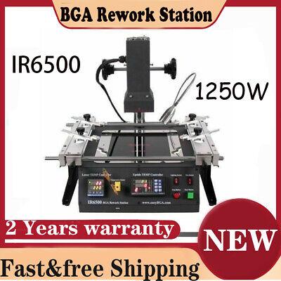 Ir6500 Bga Rework Station Infrared Repair Soldering Welding Motherboards 1250w