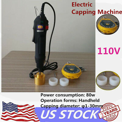 Handheld Electric Bottle Capping Screw Capper Bottle Sealing Machine Usa Plug