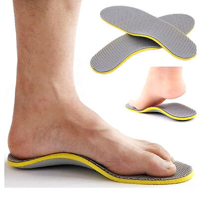 Comfort Orthotic Arch Support Shoes Insoles Pads Cushion Pain Relief Foot (Arch Support Pain)