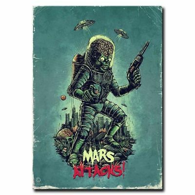 Art Mars Attacks Movie Poster 20x30 24x36 (Mars Attacks Poster)