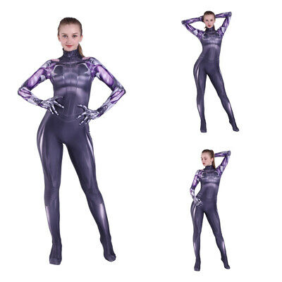 Alita: Battle Angel Zentai Suit Cosplay Costume Alita Bodysuit For Adult & Kids](Angel Cosplay Costume)