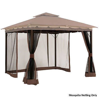 Mosquito Netting Partition for 10' x 12' Gazebo