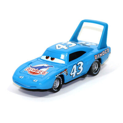 Mattel Pixar Cars The King Dinoco NO.43 Metal 1:55 Diecast Toy Car Loose US