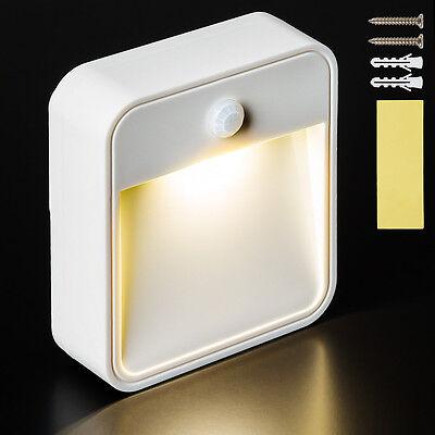 LED Nachtlamp met sensor bewegingsmelder veiligheid lamp muurlamp batterijen