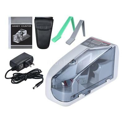 Portable Handy Mini Bill Cash Money Banknote Counter Counting Machine With Bag