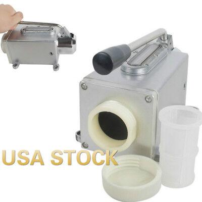 Hand Pump Lubricator Lubricating Oil Pump Manual Milling Punching Machine Usa
