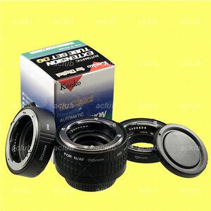 Genuine-Kenko-Automatic-Extension-Tube-Set-DG-Tubeset-for-Nikon-AF